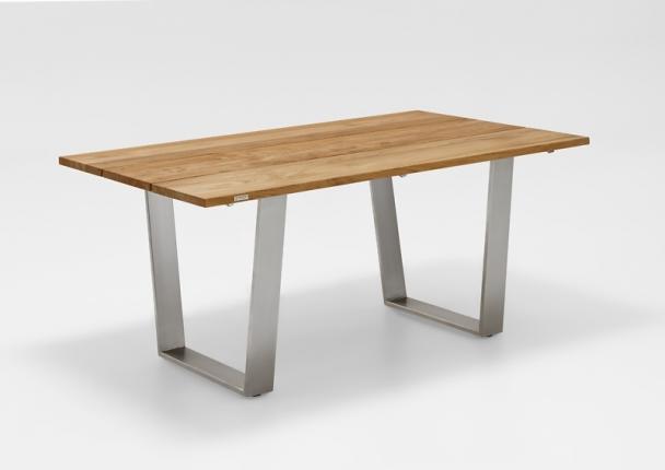 Saint Tropez Tisch, Platte Teak gebürstet