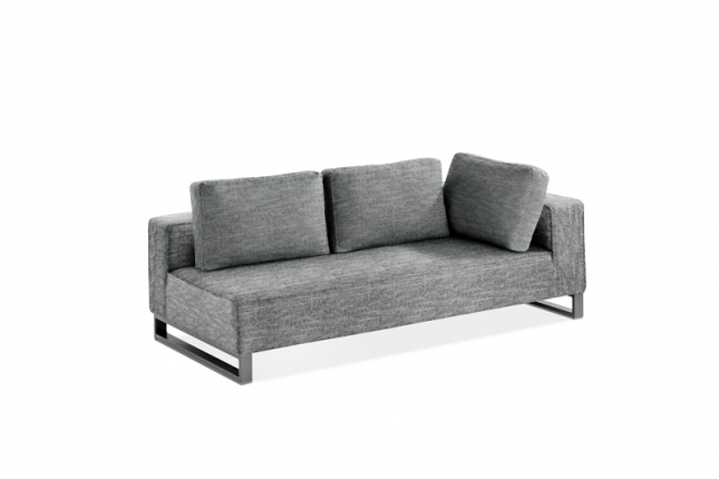 Solvay 3-Sitzer Sofa links mit Armlehne