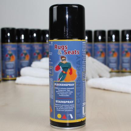 Fleckenspray für Teppiche