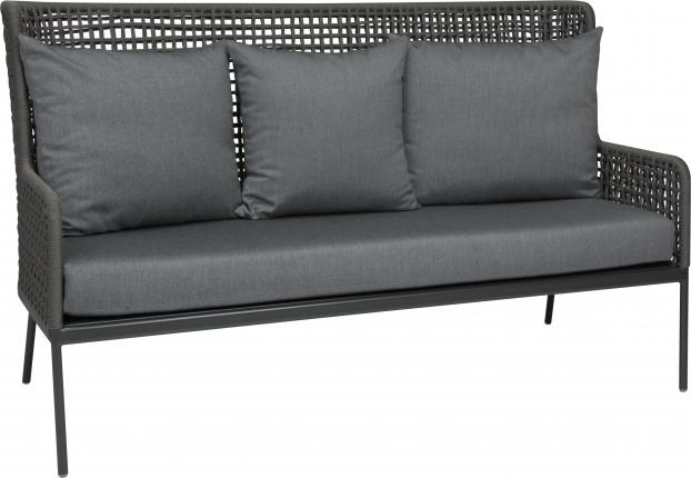 Greta Lounge Sofa, anthrazit