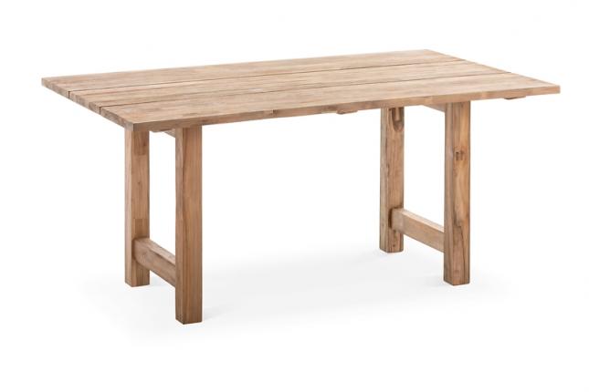 Tisch Garda Tischplatte Teak recycelt