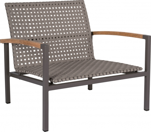 Lucy Lounge Sessel, anthrazit