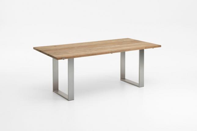 Saint Tropez Tisch, Platte Teak recycelt