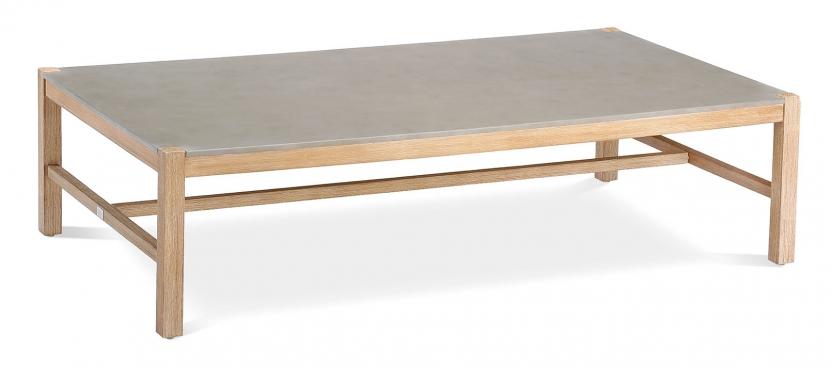 Madagaskar Lounge Tisch 140x80cm Grandis/betongrau
