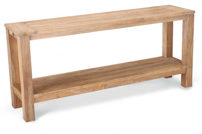 Moretti Teak-Sideboard 170x42cm grey-wash