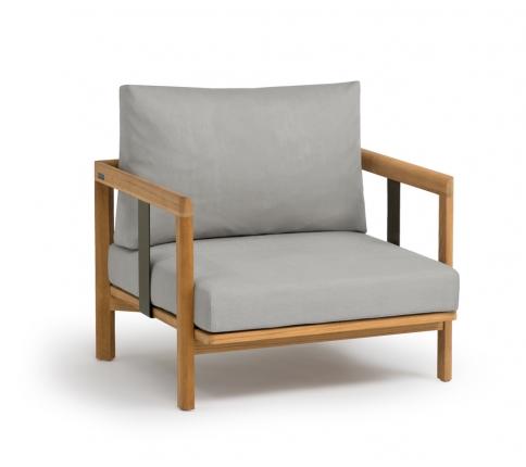 New Hampton Sessel ink. Sitzpolster und Rückenkissen