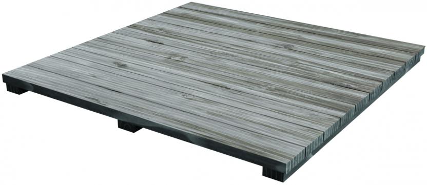 Distressed Akazien Holz (Einsatz)
