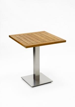 Café Tisch, quadratisch, klappbar