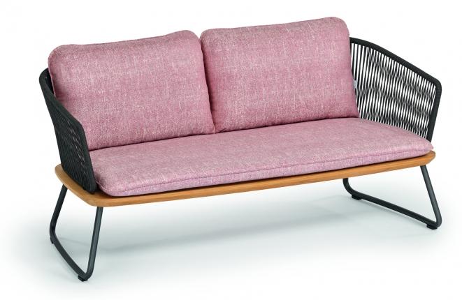 Denia 2-Sitzer inkl. Sitz- und Rückenpolster
