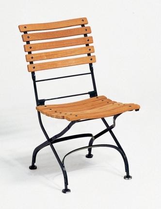 Classic Stuhl, Belattung geschwungen